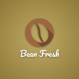 Bean Fresh – Coffee logo design free logo preview