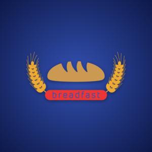 Breadfast – Vector food logo free logo preview