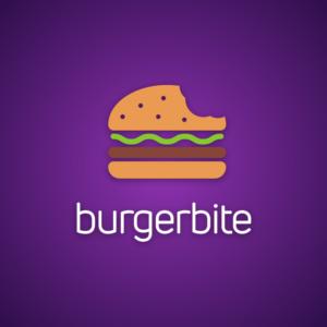 Burgerbite – Fast food vector logo free logo preview