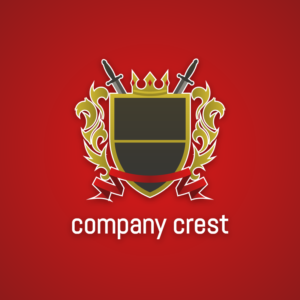 Company crest – Crown royal vector logo free logo preview