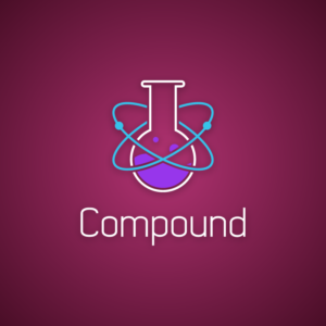 Compound – Science logo vector free logo preview