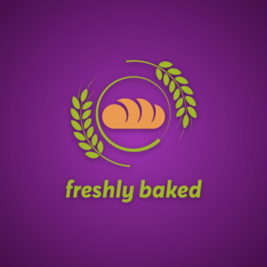 Freshly baked – Bread vector logo free logo preview