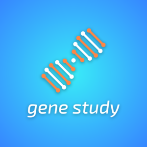 Gene study – DNA vector graphic logo free logo preview