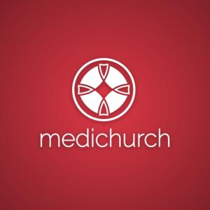 Medichurch – Religious church vector logo free logo preview