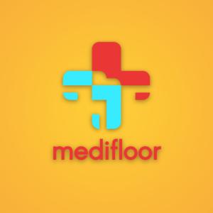 Medifloor – Medical logo design vector free logo preview