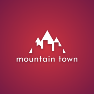Mountain town – Free city logo vector free logo preview