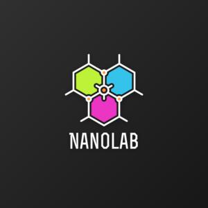 Nanolab – Geometric logo design free logo preview