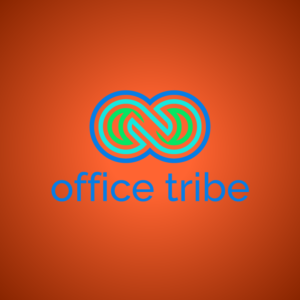 Office tribe – Geometric vector logo free logo preview