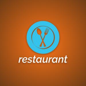 Restaurant – Food vector logo free logo preview