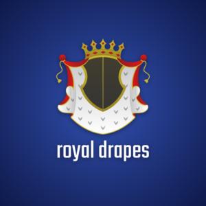 Royal drapes – Royalty free vector logo free logo preview