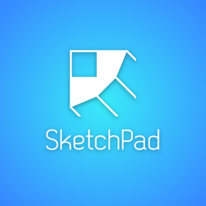 Sketchpad – Pencil vector logo free free logo preview