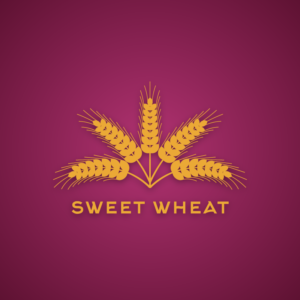 Sweet wheat – Farm vector logo design free logo preview
