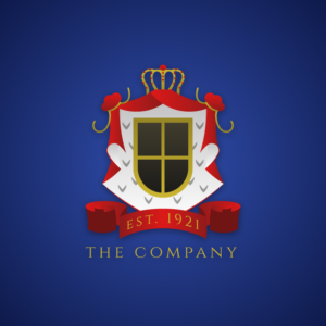 The company – Crest vector logo free logo preview