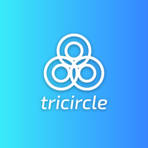 Tricircle – Abstract circle vector logo free logo preview