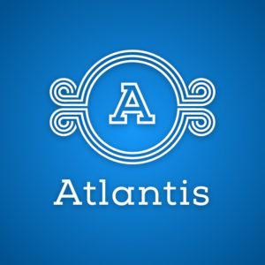 Atlantis – Free geometric letter A logo vector free logo preview