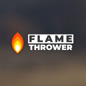 Flame thrower – Free fire logo vector download free logo preview