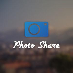 Photo share – Free photography camera app logo free logo preview