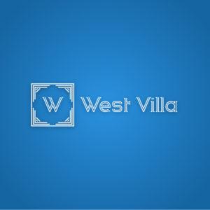 West villa – Free modern architecture logo free logo preview