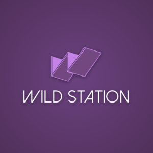 Wild station – Isometric letter W logo vector free logo preview