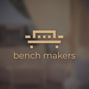 Bench makers – Free geometric furniture logo free logo preview