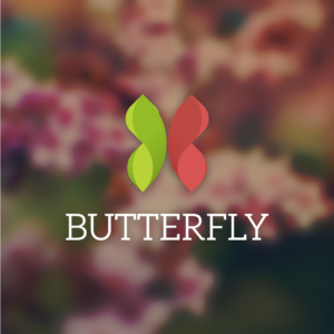 Butterfly – Free insect wing logo vector free logo preview